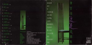 1989陳百強浪漫音樂集CD-封面