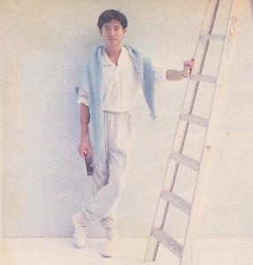 1988 陈百强 和姐姐合资搞时装生意 4月赴欧洲  ≡^I^≡